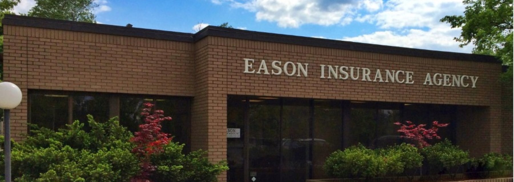 front of Eason Insurance Agency building